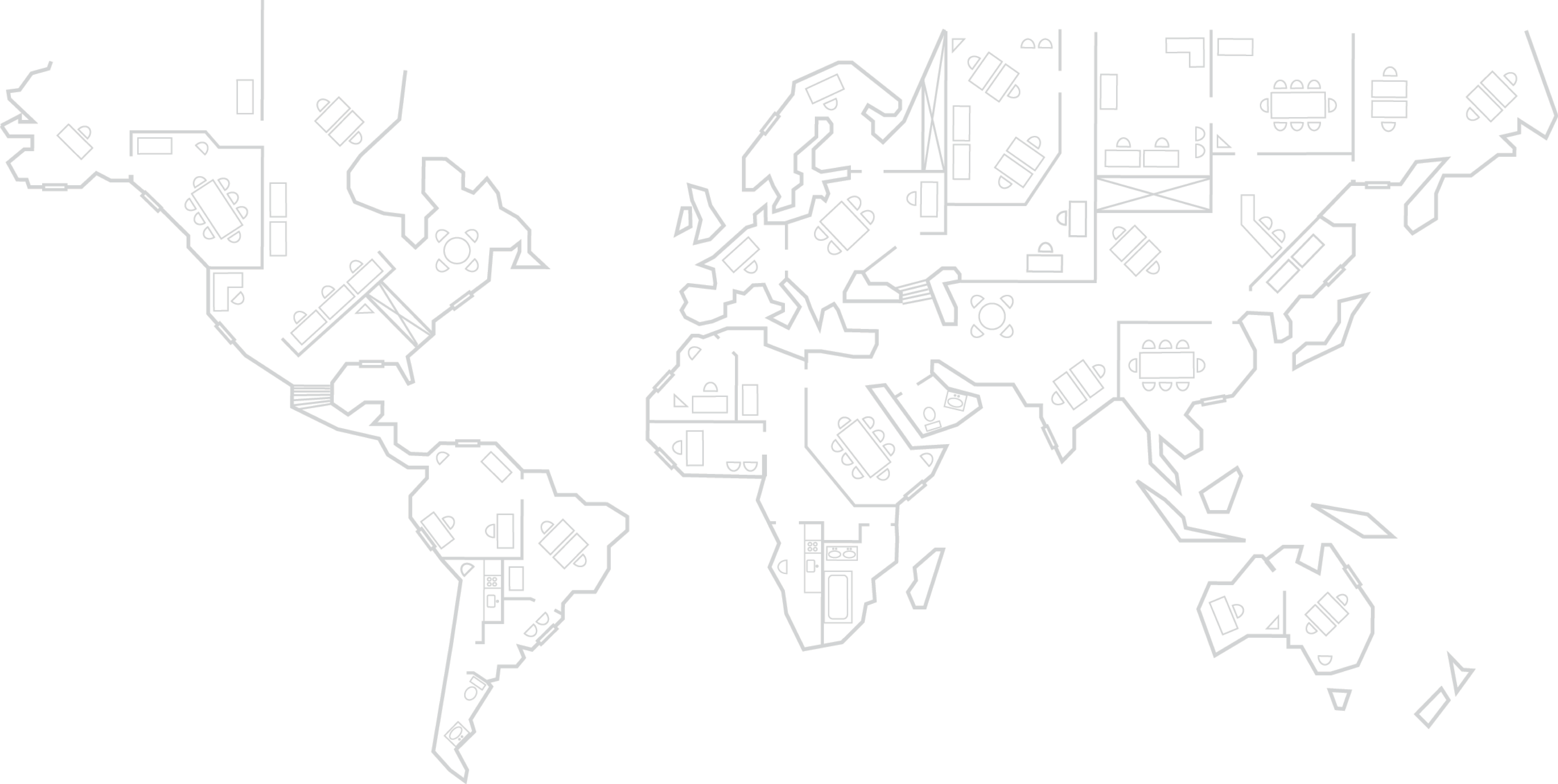 World-Architects World Map