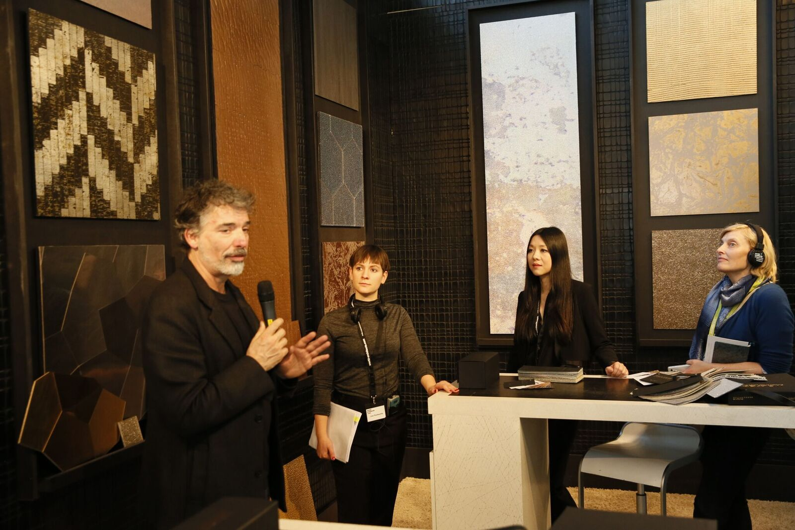 Lien Tran «textile. tactile. trends»  at Welter ( Photo ©  Markus Bachmann / World-Architects )