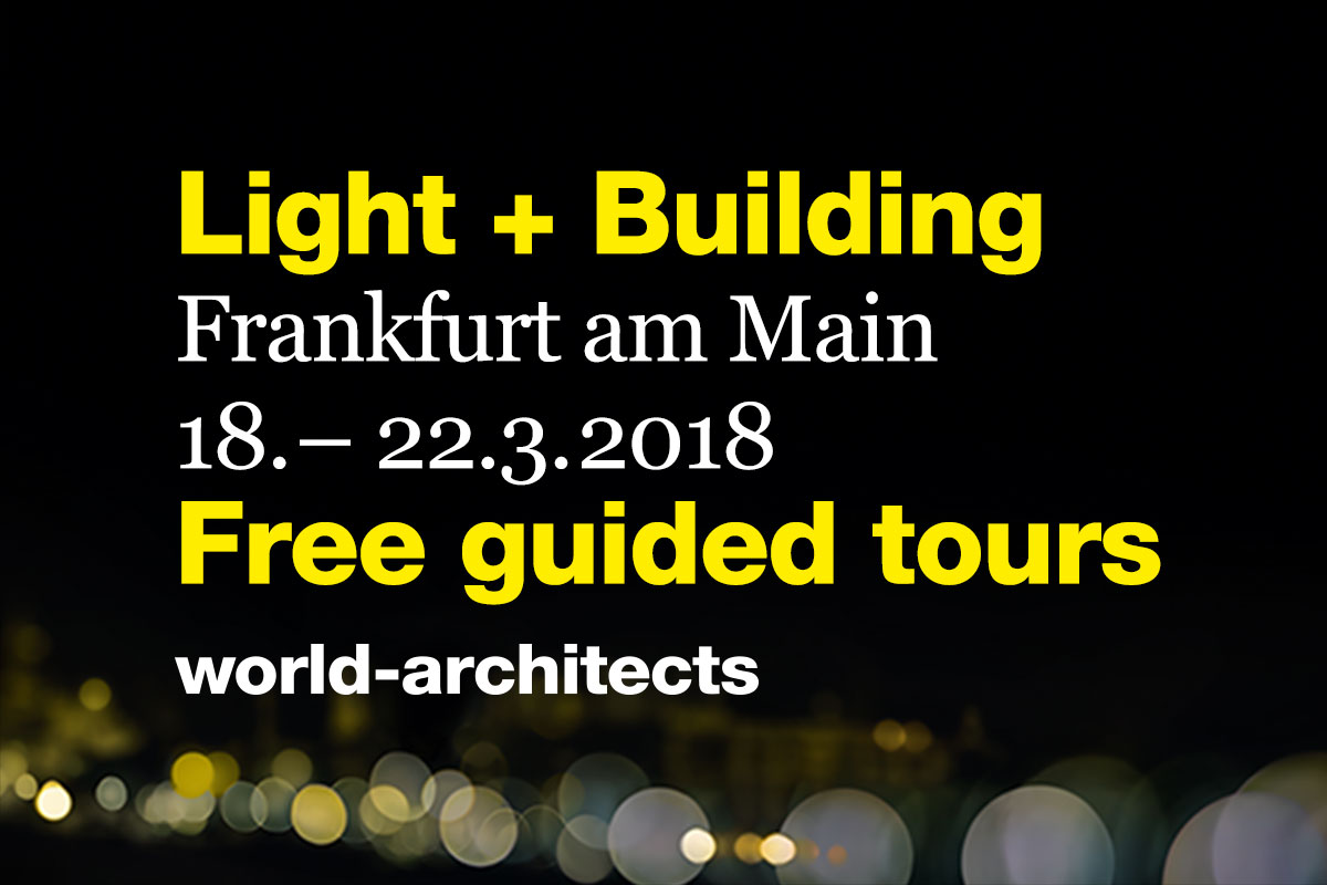 Light and Building 2018 Keyvisual 1