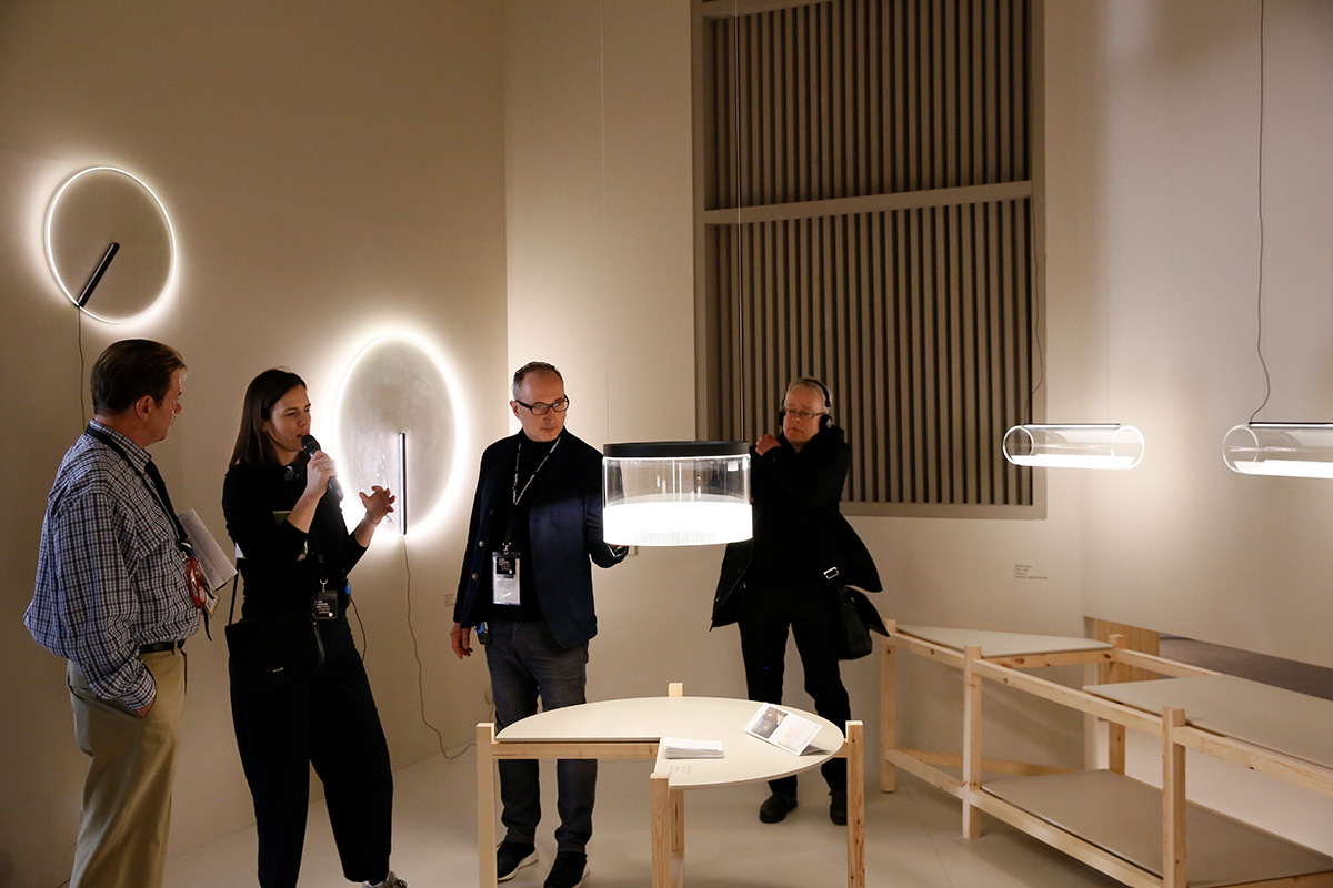 Martina Metzner and Thomas Geuder at Vibia
