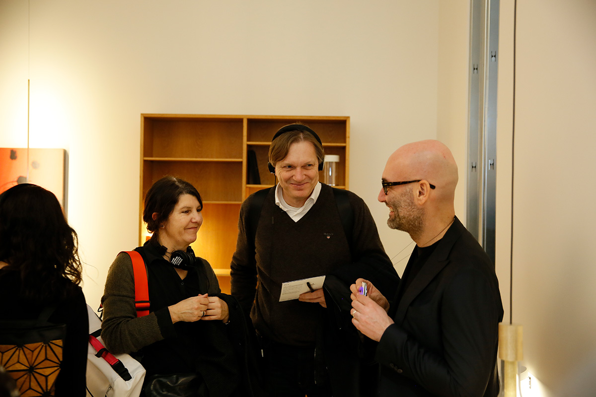 Michael and Iris Podgorschek at Davide Groppi