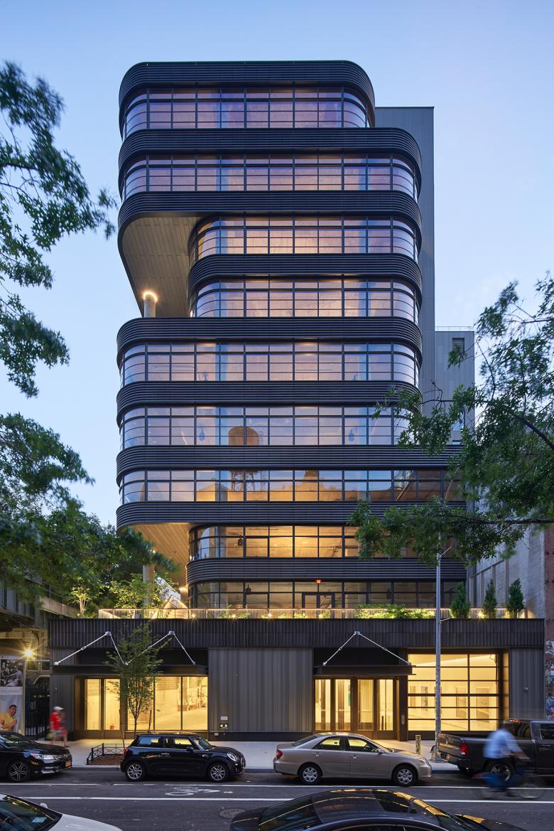 512 West 22nd Street: Biophilic design on the High Line