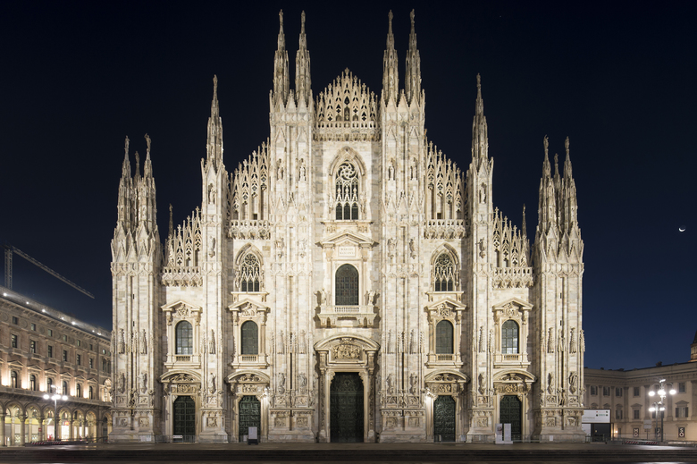 Cathedral Of Light Duomo Di Milano S New Lighting Erco