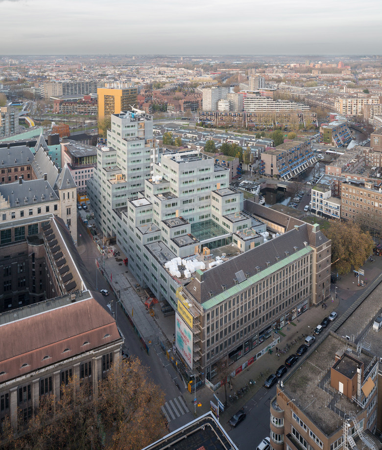 Timmerhuis oma office for metropolitan architecture - Office for metropolitan architecture oma ...