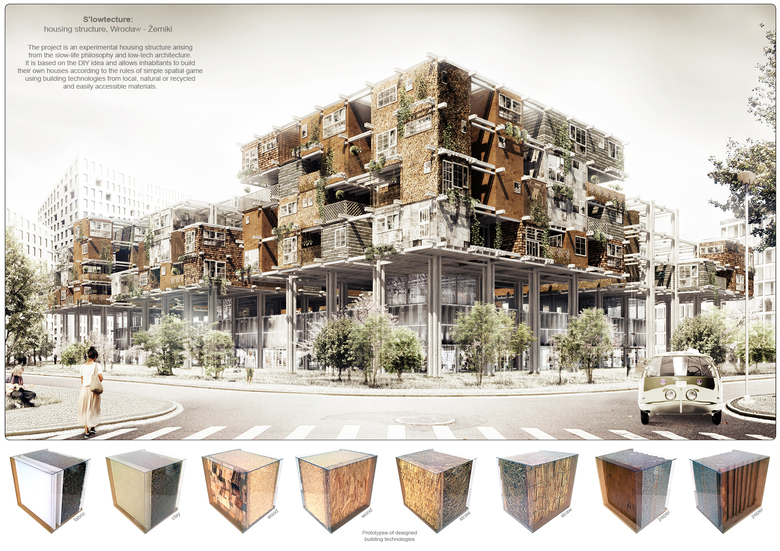 S'lowtecture: housing structure Tomasz Broma - YTAA 2016 Winner on beautiful design of houses, world design of houses, color of houses, different design cars, different house plans designs, different roof designs, size of houses, cool design of houses, bad design of houses, modern design of houses,