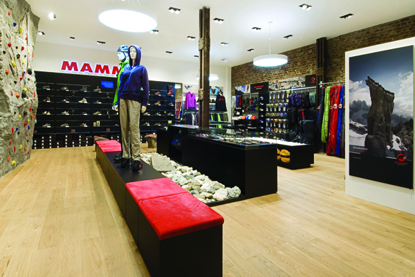 the best attitude ca0e0 a2ebd Mammut Sports Group Store Concept INpuls