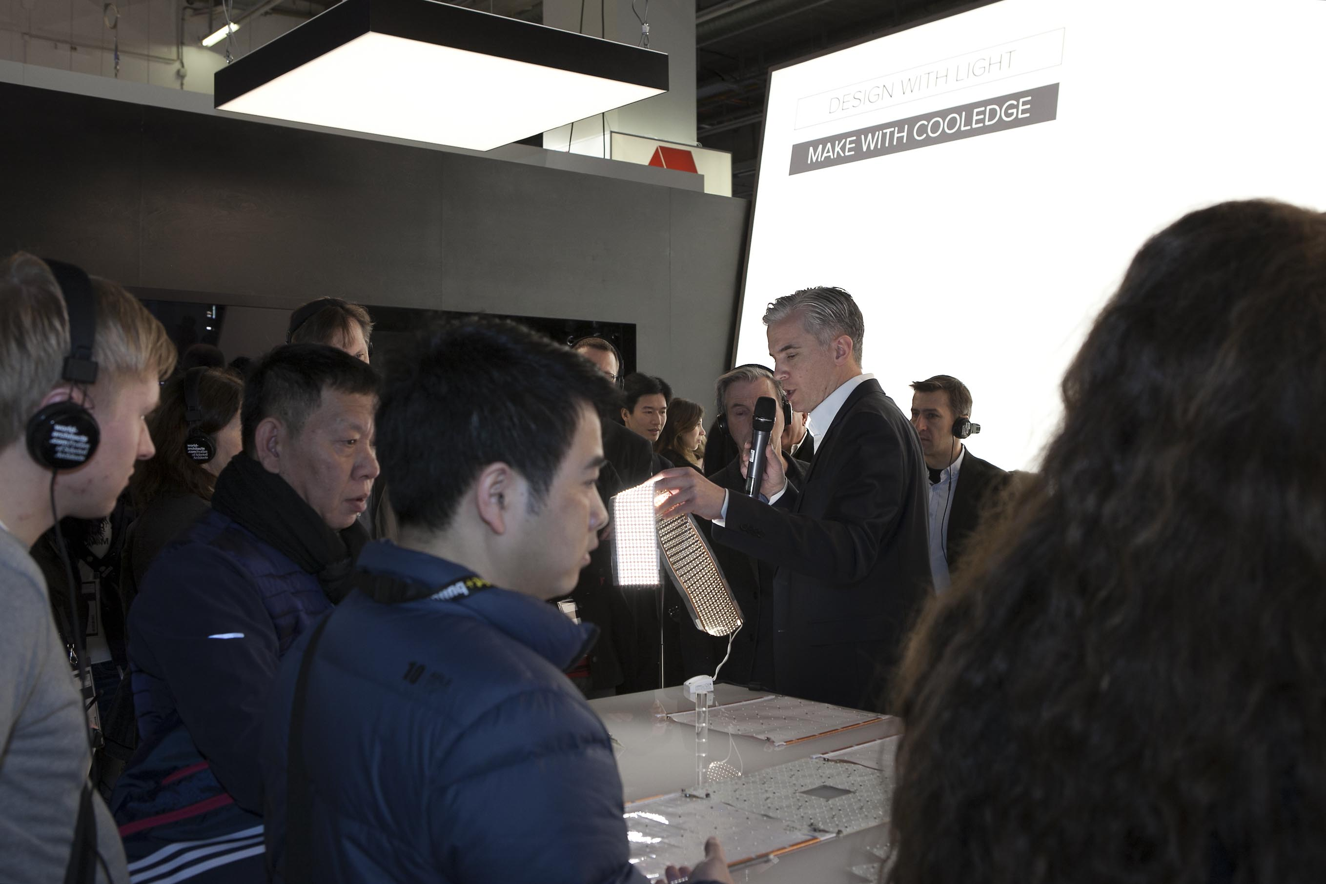 «From the LED light source to the LED Luminaire» Tour at Cooledge Lighting