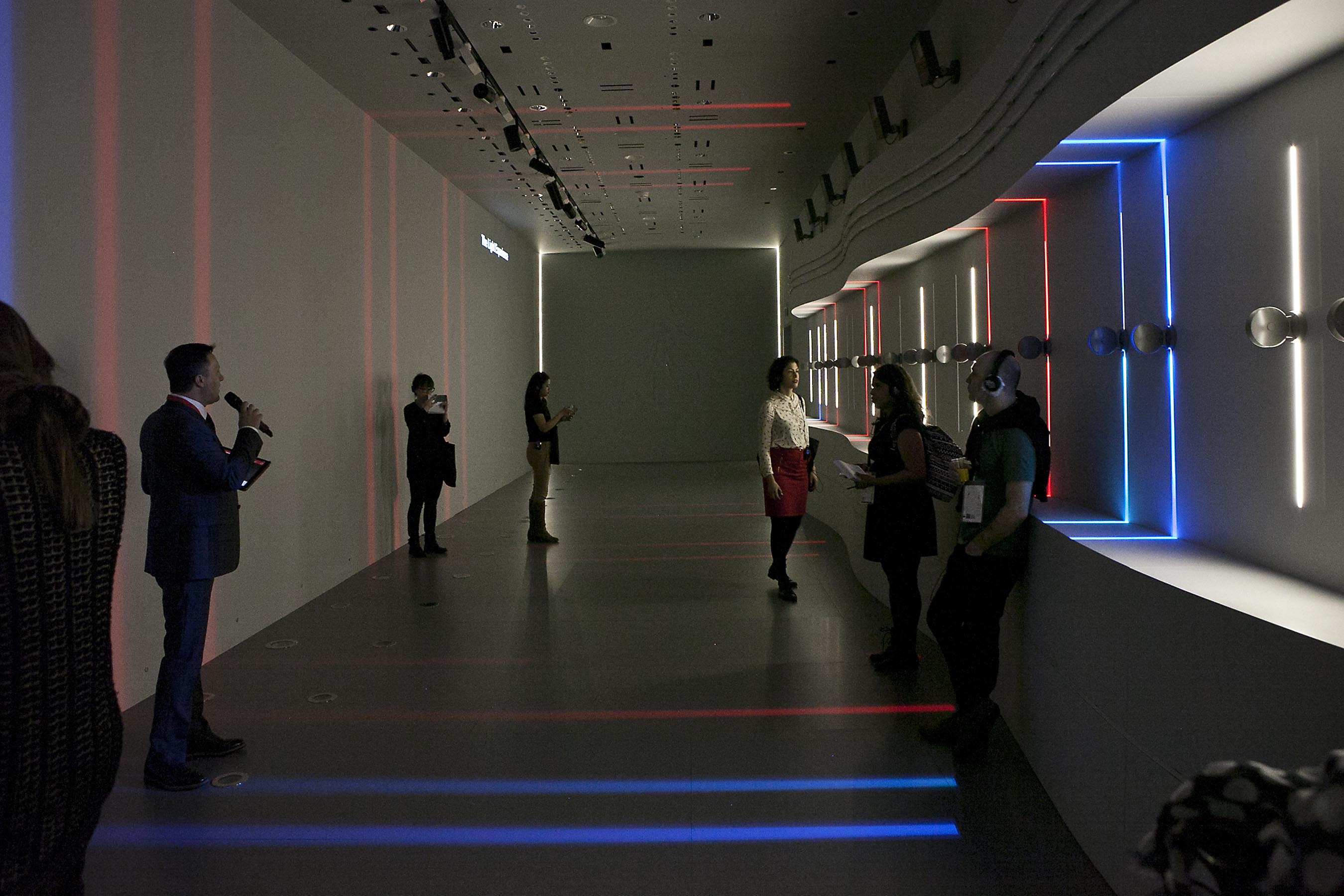 «Shaping Light» Tour at iGuzzini