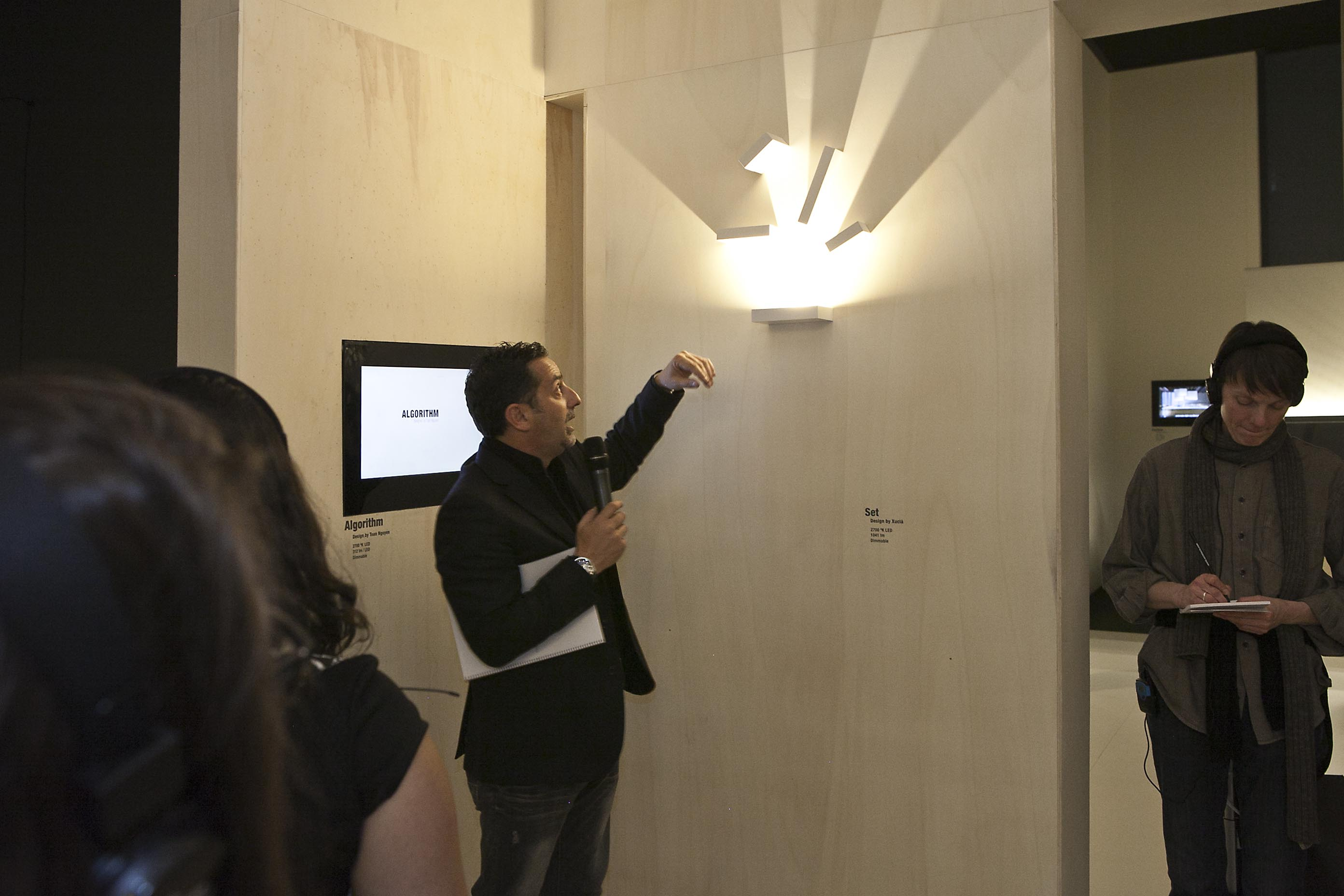 «Shaping Light» Tour at Vibia